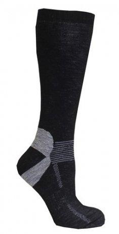Ski socks 2-pack Ull - Svarta