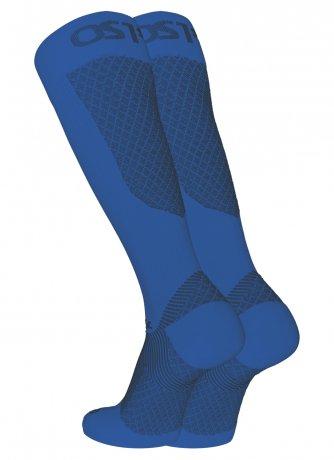 FS4+ Löparstrumpa motverkar hälsporre/benhinneinflammation - Blå (Medium (37-41))