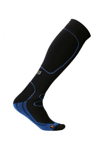 Kompressionsstrumpor Sport - Svart/blå