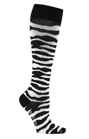 Stödstrumpor - Zebra